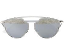 Sonnenbrille mit Nietenverzierung