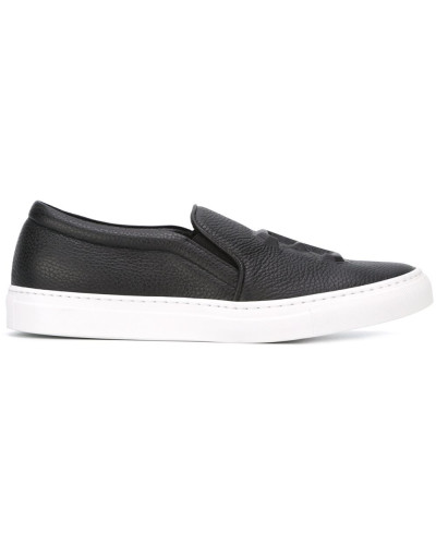 "Slip-On-Sneakers mit ""32""-Prägung"