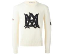 'Insignia' Pullover mit Stickerei