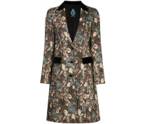 floral swing coat
