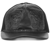 tiger embossed baseball cap