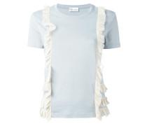 T-Shirt mit Rüschenborten - women - Baumwolle