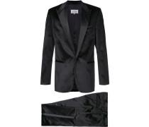 velvet two piece suit