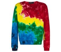 Sweatshirt mit Batik-Print