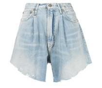 Damon Jeans-Shorts mit Falten