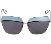 Sonnenbrille mit zweifarbigen Gläsern