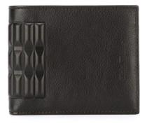 Portemonnaie mit texturiertem Detail