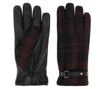 Garavani tartan gloves - men
