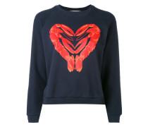 Sweatshirt mit Hummer-Print - women - Baumwolle