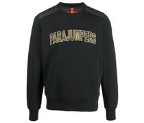 Gestepptes Sweatshirt mit Logo