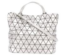 Großer Shopper mit geometrischem Reißverschluss