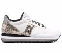 Sneakers mit Schlangen-Effekt