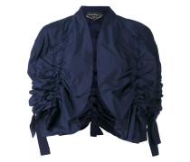Cropped-Jacke mit Rüschen - women - Polyester