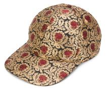 Baseballkappe mit floralem Muster