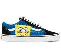 Sneakers mit SpongeBob-Print