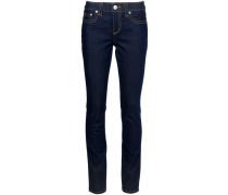 Skinny-Jeans mit Knopfverschluss