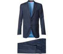 Karierter Anzug - men - Bemberg Cupro®/Wolle