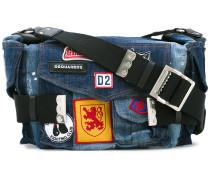 'Postman' Jeans-Schultertasche