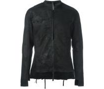 Enganliegende Jacke mit Reißverschluss