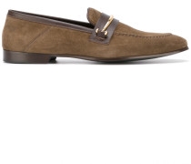 - Penny-Loafer mit goldfarbener Spange - men