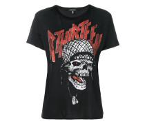 T-Shirt mtg Totenkopf-Print
