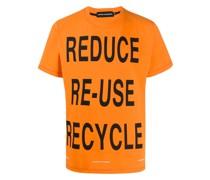 "T-Shirt mit ""Reduce Reuse""-Print"