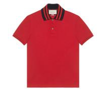 - Poloshirt mit gestreifter Borte - men