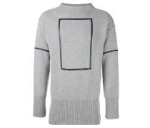 Pullover mit Rechteck