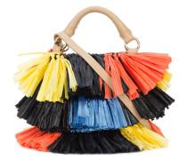 Handtasche mit Bastfransen