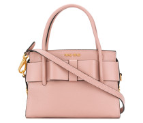 bow detail mini tote bag