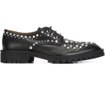 Derby-Schuhe mit Verzierung