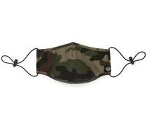 Mundschutz mit Camouflage-Print