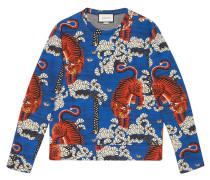 Bengal print sweatshirt