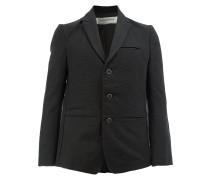 straight-fit blazer