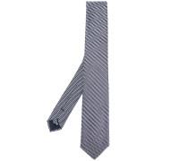 micro dot-print tie