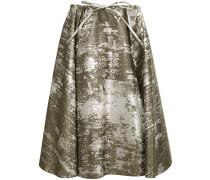 spotted pattern full skirt