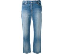 - 'Rockstud' Cropped-Jeans - women