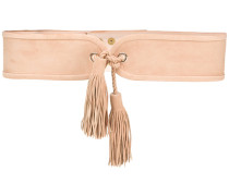 tassel waist belt - women - Wildleder - 80