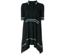 Mehrlagiges Kleid mit Polokragen