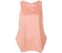 side slits sleeveless blouse