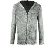 Kapuzenjacke in Distressed-Optik