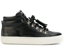High-Top-Sneaker mit Plateausohle