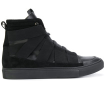 High-Top-Sneakers mit Laschen-Design