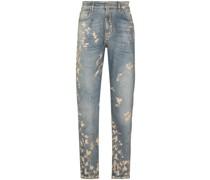 Bemalte Baggy Jeans