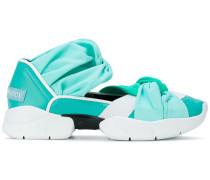 gradient twisted sneakers