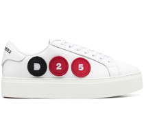 Flatform-Sneakers mit Patches