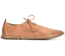 Derby-Schuhe im Used-Look - men - Leder - 42