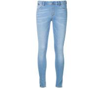 Skinny-Jeans mit Herzstickerei - women