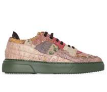 Sneakers im Patchwork-Design