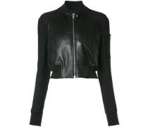 Cropped-Jacke mit Reißverschluss - women